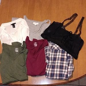 6 Tops Size Ladies Small